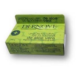 Jabon natural de glicerina de aloe-vera Dernove 100 g