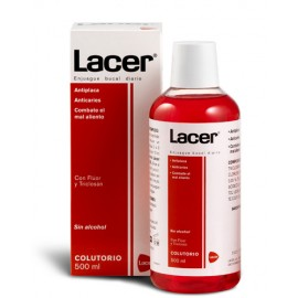 Colutorio Lacer Sin alcohol 500 ml
