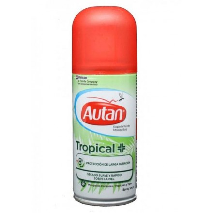 Autan Tropical Spray Seco 100 ml