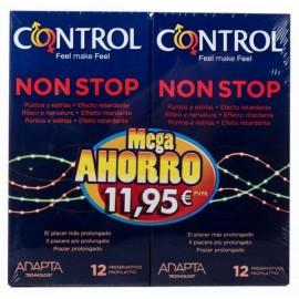 Preservativos Control Non Stop 2x12 preservativos