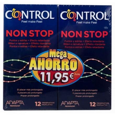 Control Non Stop 2x12 preservativos
