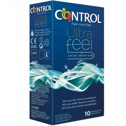 Control Ultra Feel 10 uds.