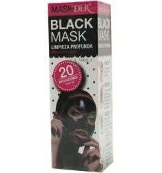 Mascarilla Negra. Black MaskDer