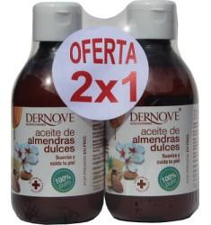 Aceite de almendras dulces Dernove 250ml 2x1