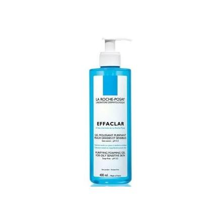 Effaclar Gel Mousse Purificante para pieles sensibles y grasas 400 ml