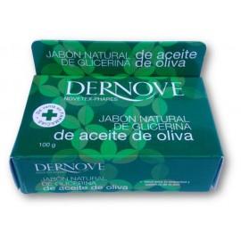Jabon natural de glicerina con aceite de oliva Dernove 100 g