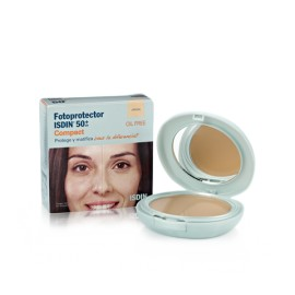 Fotoprotector Isdin SPF 50+ Compact Color Arena