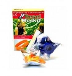 Pulseras Repelentes de mosquitos Repel Moskit