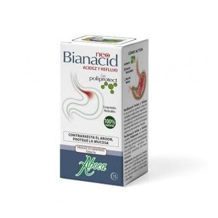 Neo Bianacid Acidez y Reflujo 45 comp masticables Aboca