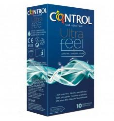 Preservativos Control Ultra Feel 10 uds.