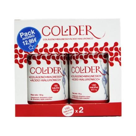 ColDer 180 tabletas x2