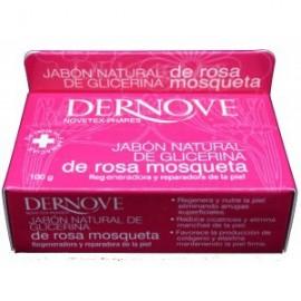 Jabón Natural de Glicerina de Rosa Mosqueta Dernove 100 g